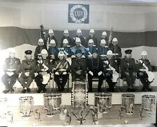 More details for the royal regiment of wales band photo large 14 x 11 on card 1980's