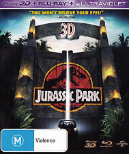 JURASSIC PARK 2D + 3D Blu-Ray DISC