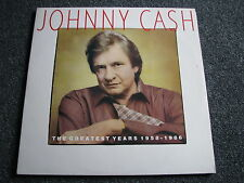 Johnny Cash-The Greatest Years 1958-1986 LP-2 LPs-Holland-Country-1987-33 U/min