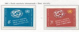 19039) United Nations (New York) 1961 MNH Int. Währungsunion Fund