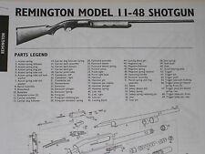 REMINGTON MODEL 11-48 SHOTGUN EXPLODED VIEW