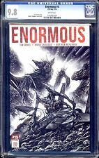 ENORMOUS #4 VOLUME 1  REGULAR COVER CGC 9.8 WHITE PAGES