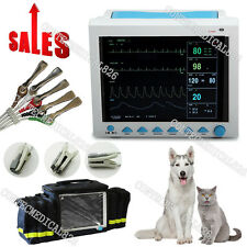 Paziente veterinaria Monitor VET Vital Signs Monitor 6 parametri + bag