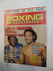 Vintage 1979 Boxing Illustrated Magazine Wilfredo Benitez on Cover