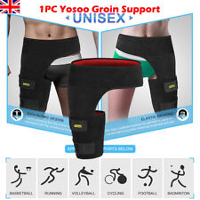 Groin Thigh Wrap Strain Pain Support Hip Injury Sciatica Brace Recovery Relief