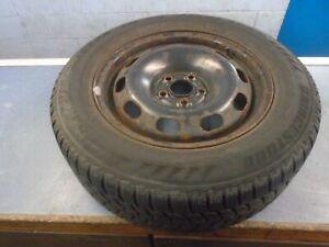 "VW Golf MK4 Bora Leon MK1 15"" Steel wheel & Tyre 195/65/15 4mm 1J0601027H"