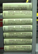 CODICE CIVILE ANNOTATO. 7 VOLL. UTET. 1980
