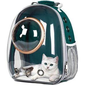 Portador De Perro Cachorro Peque/ño Mediano Portador De Mascotas para Viajes Senderismo Camping Grey Transparente Transpirable Resistente Al Calor Sipobuy Mochila C/ápsula Espacio para Mascotas