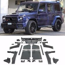 Wide BODYKIT for Mercedes Benz G class W463 G500 G63 (B-style) PLASTIC PU