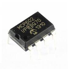 50 PCS MCP602 MCP602-I/P IC OPAMP DUAL SNGL SUPPLY 8DIP NEW