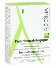A-DERMA Dermatological Bar Cleanses & Soothes Fragile Skin Soap-free 100g/3.5oz