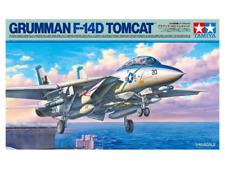 Tamiya Grumman F-14D Tomcat 1:48 Plastic Plane Model Assembly Kit (61118)