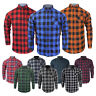 Mens Brave Soul 'Jack' Long Sleeve Check Lumberjack Brushed Cotton Casual Shirt