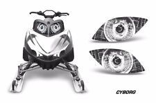 Headlight Eye Graphics Kit Decal Cover For Arctic Cat M Series Crossfire CYBRG W
