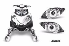AMR Racing Arctic Cat M Series Crossfire Sled Snowmobile Headlight Eyes CYBORG W