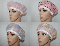 X 3 Chapeaux Bonnet Couvre Cheveux de Bain Douche Surdimenssionné Femme Taille U