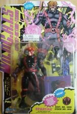 Spartan 1994 Wildcats Stealth Suit (Red & Black) Figure with Collector Card