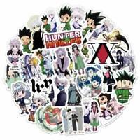 50PCS/Set Anime Hunter x Hunter PVC Waterproof Suitcase Sticker UK