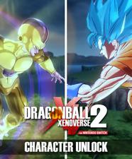 DRAGON BALL XENOVERSE 2 UNLOCK CHARACTERS DLC Nintendo Switch