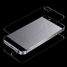 Protector Front + Back Premium Tempered Glass Film Screen For iPhone 4 4G 4S