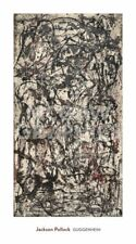 Enchanted Forest 1947 Jackson Pollock Art Print Abstract Guggenheim Poster 36x20