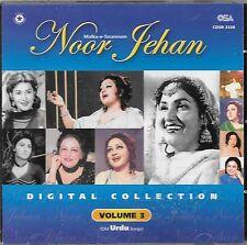 NOOR JEHAN - DIGITAL COLLECTION - VOL 3 - OLD URDU SONGS - NEW SOUND TRACK CD