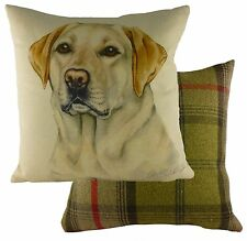Waggy Dogz Yellow Labrador Dog Filled Cushion 43cm X 43cm - Evans of Lichfield
