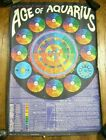Astrological Guide to the Age of Aquarius Richard Cullen Zodiac Astrology Poster
