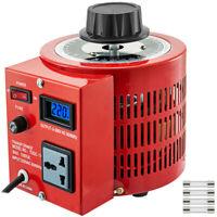 1KW 220V Variac Auto Transformer Variable LCD 1000VA 0-300V AC Single Phase