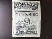 WEST BROMWICH ALBION V SUNDERLAND 1931/32