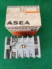 Asea Eg 20 Contactor 20 amperios 48 voltios bobina