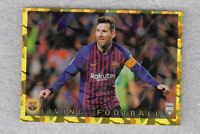 football sticker Lionel Messi FC Barcelona FIFA 365 2020 Panini #100 foil