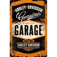 Blechschild Harley Davidson Garage,Nostalgie Schild 60 cm ! ! !,NEU,Metal shield