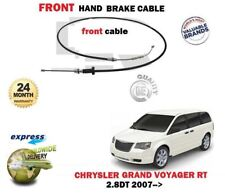 FOR CHRYSLER GRAND VOYAGER 2.8 TD 2007->NEW 1 X FRONT HAND BRAKE CABLE