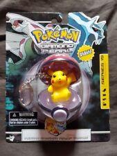PIKACHU Pokemon Diamond & Pearl Series 15 Keychain NEW Basic Fun Inc 2007
