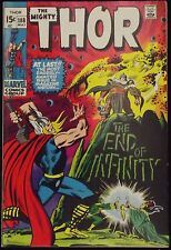 Thor #188 Vf Origin Of Infinity