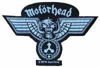 MOTÖRHEAD - Patch Aufnäher wings hammered logo cut out 10,3cm x 6,7cm