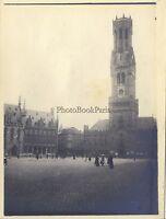Brugge Bruges Belgium Foto Amateur Vintage Analogica Ca 1900