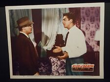 Kiss Of Death 1947 orig Lobby Card # 5 VF Victor Mature Brian Donlevy Film Noir
