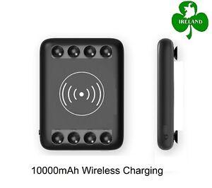 10000mAh Power Bank Charger Micro USB / Type-C Input Charging Wireless Powerbank