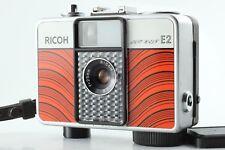 SUPER RARE LINE RED!! Ricoh Auto Half E2 35mm Half Frame Film Camera Japan #1067