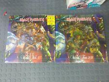 Iron maiden 4 lp colour 2 box sets limited edition.