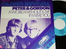 """7"""" - Peter & Gordon A World without love & If i were you # 4466"""