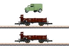 More details for marklin 82327 drg type o wagon set (2) w/tempo a400 van set ii