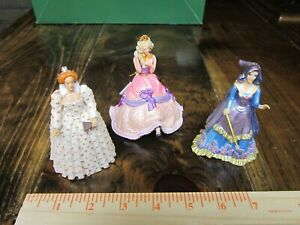 Schleich Historical women of history x3--Enchantress, Queen and Princess