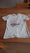 T Shirt Shirt Pulli von Vertbaudet Größe 146 / 152 150 cm beige mit Frontdruck