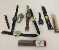 Watch Lot Watches And Bands Parts