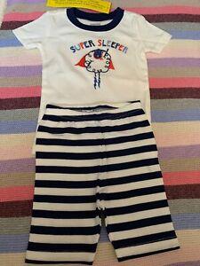 Gymboree baby pajamas super sleeper sheep,2 pieces,with shorts,size 2T,sleepwear