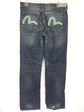 Evisu by Puma Jeans Women's Boot Cut Stretch Distressed Size 28 x 32