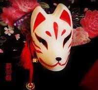 Hand Drawing Cosplay Fox Mask Mukuro Miku Natsume Yujincho Hotarubi No Morie etc